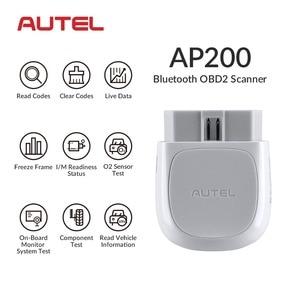 Image 3 - Autel AP200 AP200M Bluetooth OBD2 Xe Máy Quét OBD 2 Ô Tô Công Cụ Chẩn Đoán DIY Mã Autoscanner PK MK808 Thinkdiag