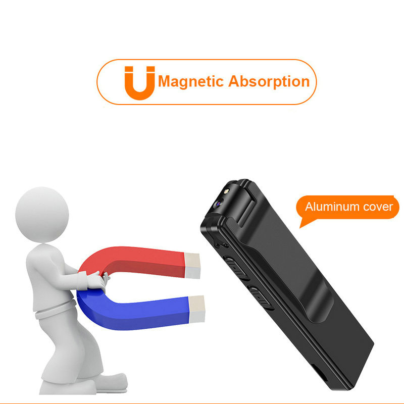 Image 3 - Magnetic Pen Mini Camera HD 1080P Camcorder Video Audio Recorder 