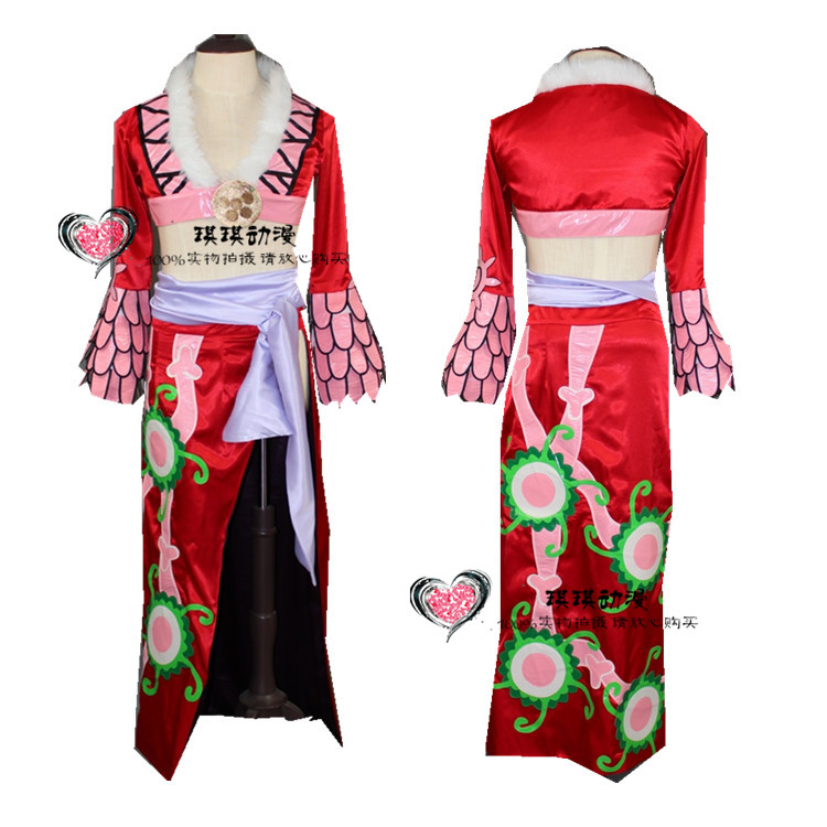 2017 One Piece Boa Hancock Cosplay Dress