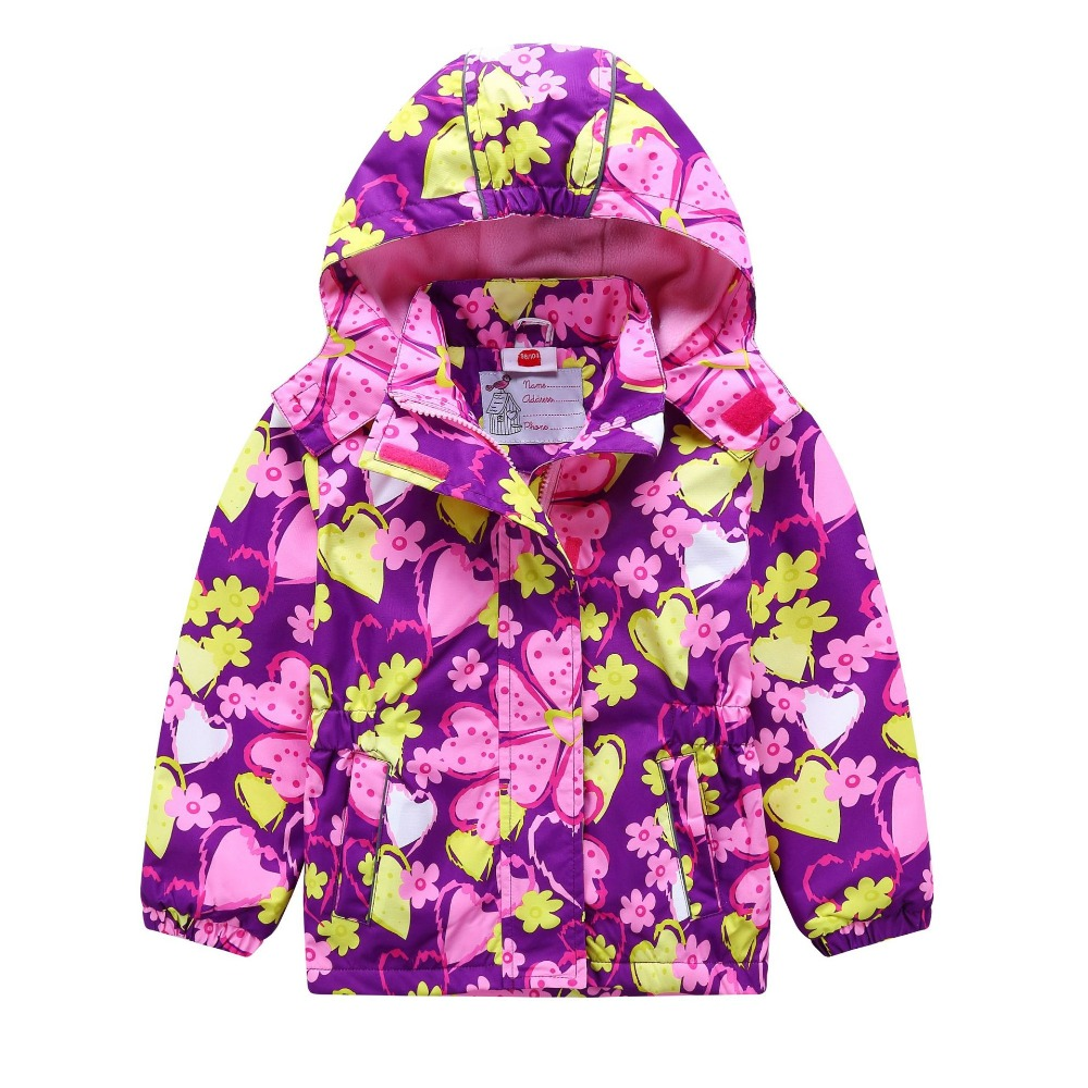 689779e50 Waterproof Windproof Children Outerwear Baby Girls Jackets Children Kids  Coat Warm Polar Fleece For 3- ...