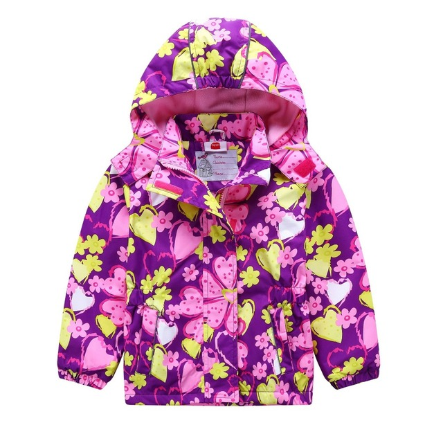 74e3c463b Waterproof Windproof Children Outerwear Baby Girls Jackets Children ...