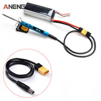 TS100 Specialized XT60 to DC5525 Adpater Power Cable Welding Equipment