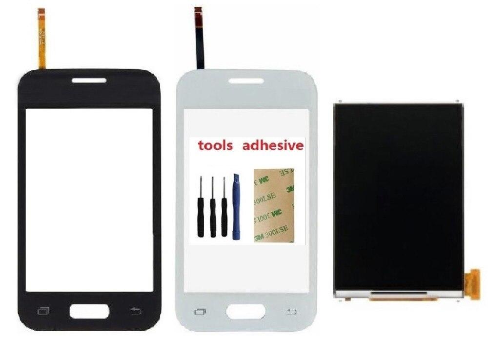 For Samsung Galaxy Young 2 SM-G130 G130H G130F G130HN LCD Display Screen + Touch Screen Digitizer Sensor + Adhesive + Kits