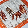 Jungle Horse Print Large Square Silk Scarf Shawl Women 100 Silk Twill Scarves Wraps High Style