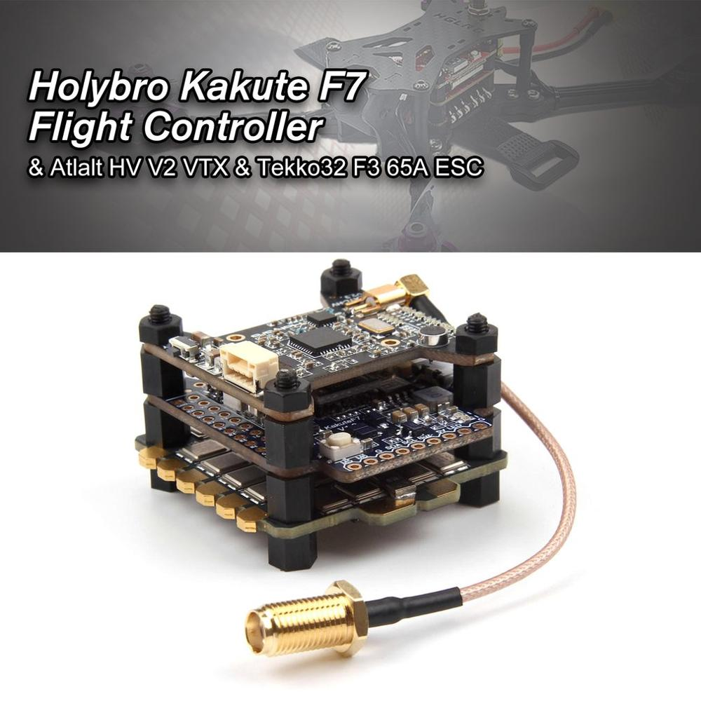 Holybro Kakute F7 Flight Controller & Atlalt HV V2 40CH VTX & 65A BL_32 Tekko32 F3 Metall 4in1 ESC Combo für RC Drone-in Teile & Zubehör aus Spielzeug und Hobbys bei  Gruppe 2