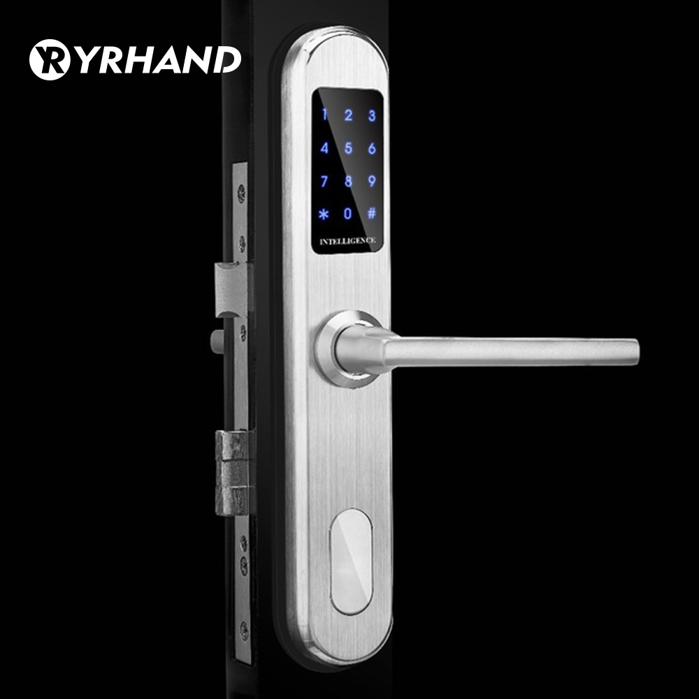Home Smart Password Auto Door Lock Access Control Safe Battery lock Pin European Keyless Electronic Keypad