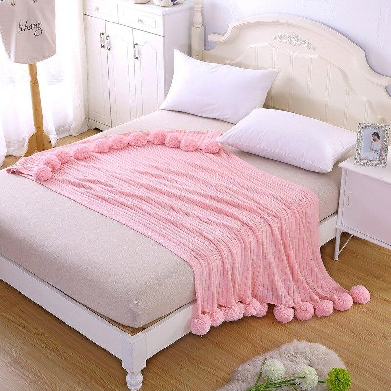 Compra marca de moda de sofá manta online al por mayor de ...