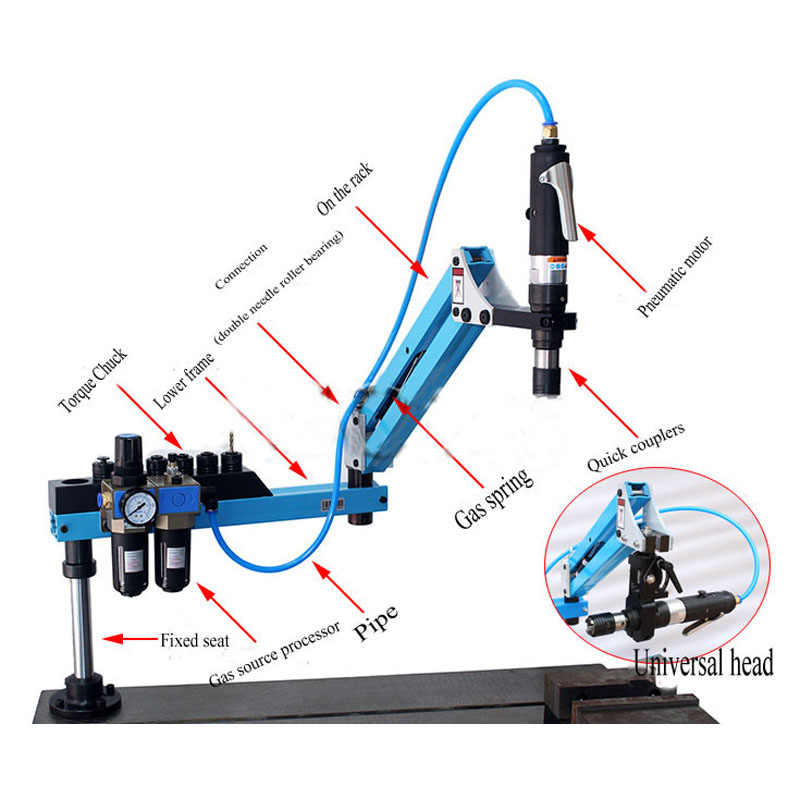 Detail Feedback Questions about Pneumatic Air Drill Tools M3 M12