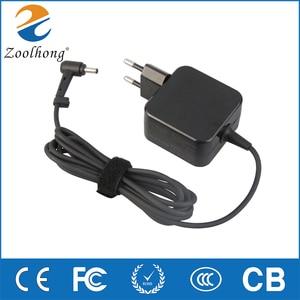 For ASUS notebook S200E X201E X403M E402 computer power adapter 19V 1.75A charger 4.0mm*1.35mm EU Plug(China)