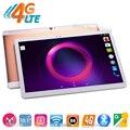 10 polegada Tablet PC 4G FDD desbloqueio LTE Octa Núcleo 4G RAM 32 GB ROM Cartões Dual SIM 8.0 M Camera 1920*1200 IPS Android 6 Tablets 10 10.1