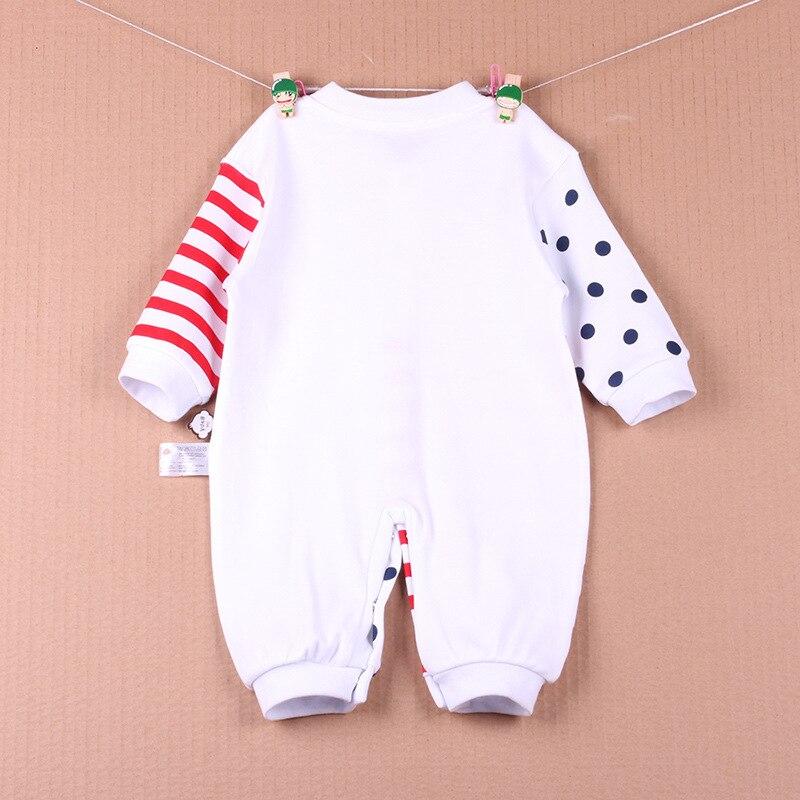 Joyo roy Baby Rompers Jesień Długi rękaw Noworodek Piżama i - Odzież dla niemowląt - Zdjęcie 2