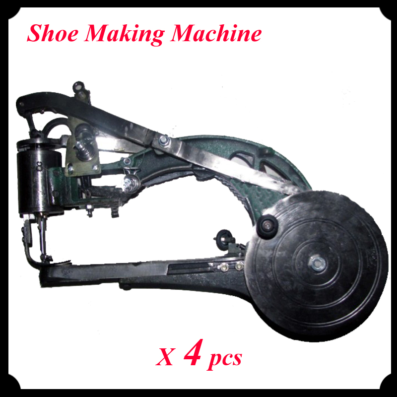 ФОТО 4pcs/lot New Manual Industrial Shoe Making Machine Sewing Equipment for Shoes