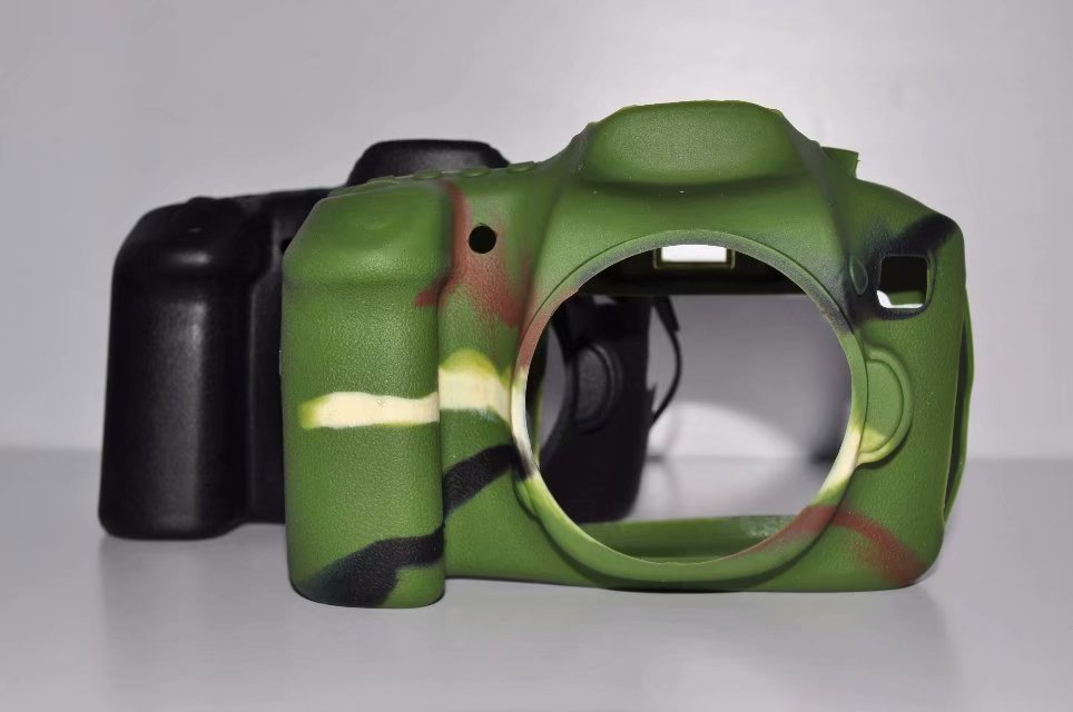 Soft Silicone Rubber Camera Protective Body <font><b>Cover</b></font> Case Skin For <font><b>Canon</b></font> <font><b>60D</b></font> Camera Bag image