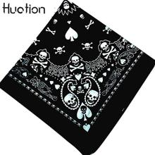Huation Skull Bandana Gothic Headwear Hair Band Scarf Neck Wrist Headtie Clothing Accessories Dropshipping Men