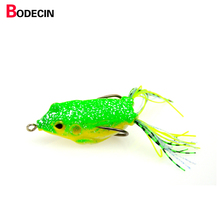 1pcs China Fishing Lure Soft For Carp Bait Tackle Lures Fish Plastic Silicone China Frog Isca Artificial Baits Sea Swim Topwater
