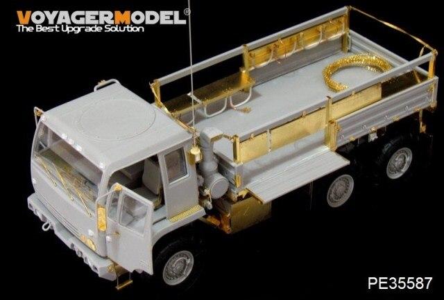 caminhão tático (FMTV) atualizar com peças de metal gravura