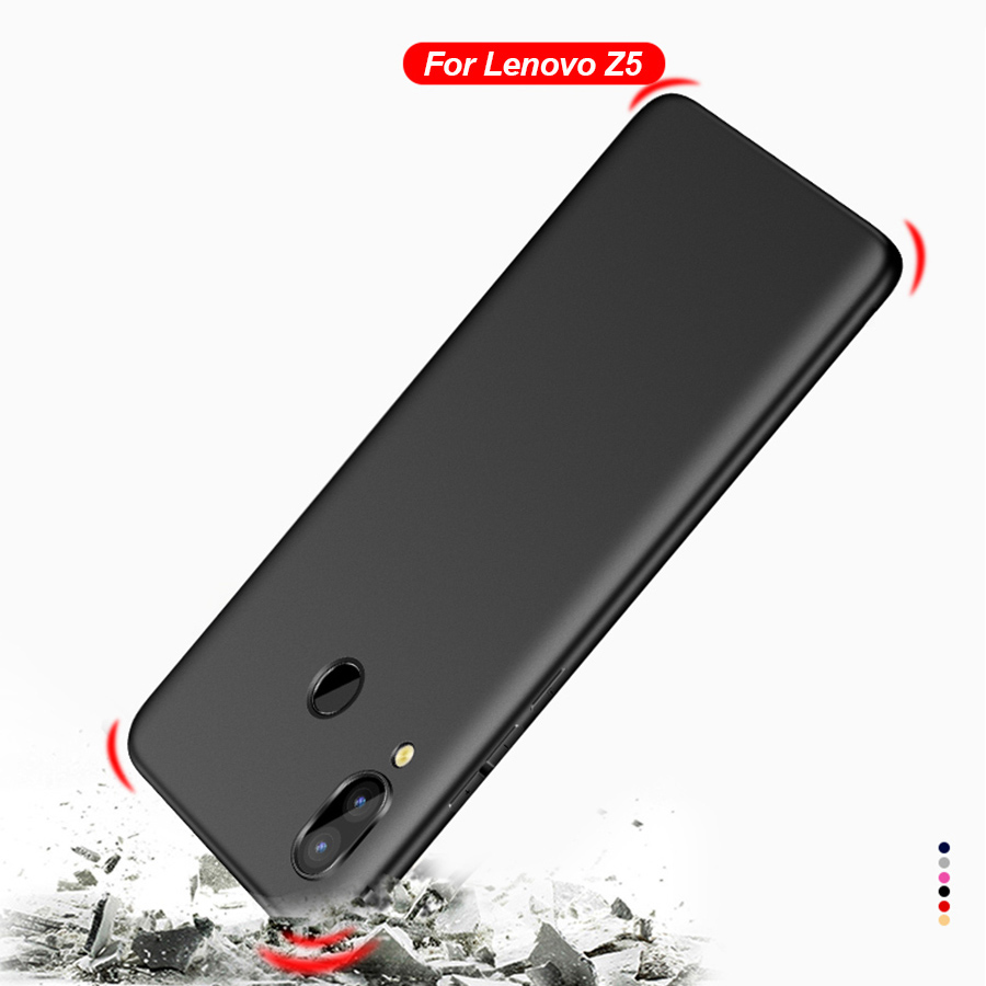 huge selection of b4d04 77174 US $1.43 10% OFF|Cover for Lenovo Z5 Case for Lenovo Z5 Cover Soft TPU Mate  Back Full Protect Phone Cover for Lenovo Z5 L78011 Phone Cases Cover-in ...
