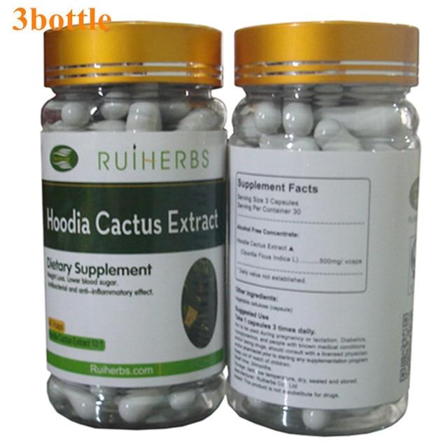 3 Бутылку HOODIA GORDONII ЭКСТРАКТ Капсула 500 мг х 270 шт. Природные Сжигатели Жира Для Потери Веса