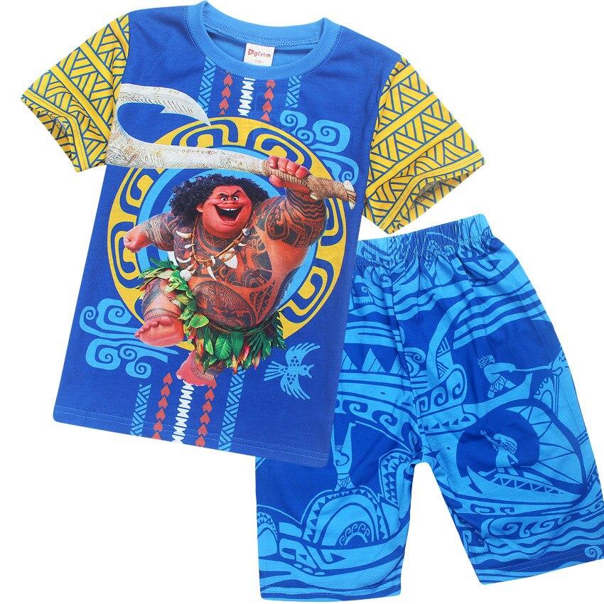 Kūdikių mergaičių drabužių komplektai Moana Maui kostiumai - Vaikų apranga - Nuotrauka 2
