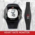 Famosa Marca de Relojes Monitor De Frecuencia Cardíaca Correa Para El Pecho Electrónica Contador de Calorías Fitness Deportivo reloj de pulsera Para Hombres Mujeres
