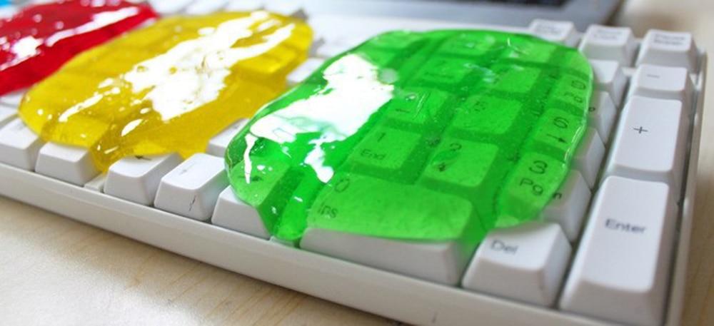 Keyboard Slime Dust Cleaning Magic Gel 9