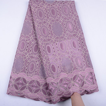 New Swiss Lace Fabric In Switzerland African Lace Fabrics High Quality Nigerian Tulle Lace Fabric Swiss Cotton Voile Lace S1510