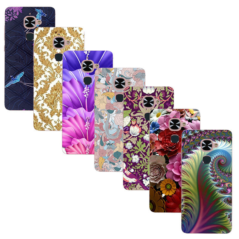 For LeTV LeEco Le 2 X520 X620 Le 2 Pro 5.5 Printed Case Luxury Hard Plastic Drawing Phone Shell For LeTV Le2 Flower Back Cover