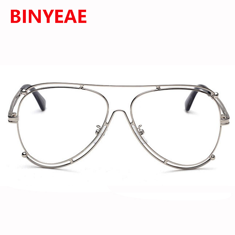 b44df5d32be2fb Vintage Retro Brille Luftfahrt Klare Linse Gläser Doppel Gold Rahmen Brille  Rahmen Brillen Frauen Optische Brillen Rahmen in Vintage Retro Brille  Luftfahrt ...