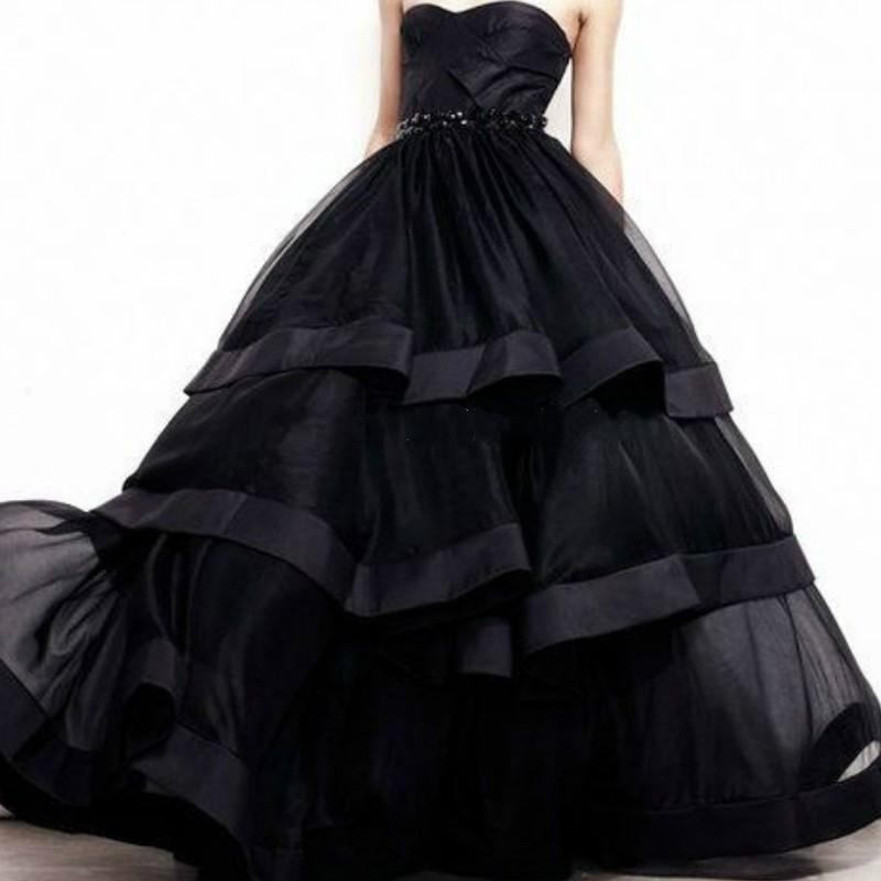 Vestido 15 Anos Black Quinceanera Dresses Organza Sweetheart Beading