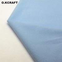 50 150cm Sky Blue Solid Color Fleece Fabric Tilda Plush Cloth For Sewing Velvet Fleece Doll