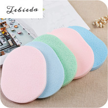 Tebieda 1pcs Seaweed facial cleanser sponge powder puff cleanser face cotton make-up remover facial cleanser dropshipping