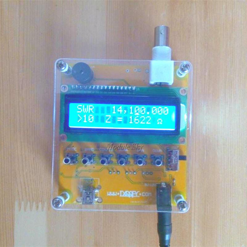 Prix pour MR100 Ondes Courtes Antenne Analyseur Testeur 1-60 M Pour Ham Radio 12 V Q9 Tête