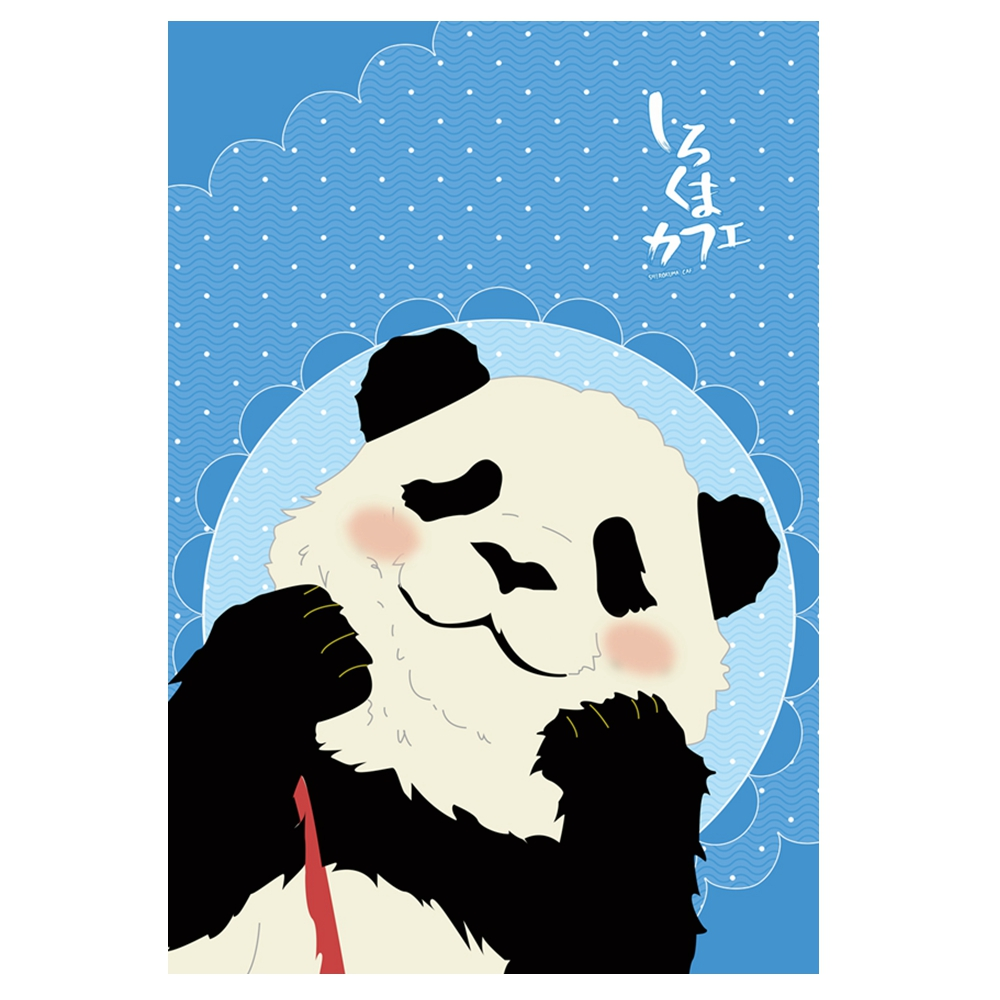Anime Jk Cartoon Shirokuma Cafe Panda Polar Bear Penguin Flannel Throw Blanket 1.5*2m Cute Soft Bed Plush Sleep Cover Bedding Costumes & Accessories