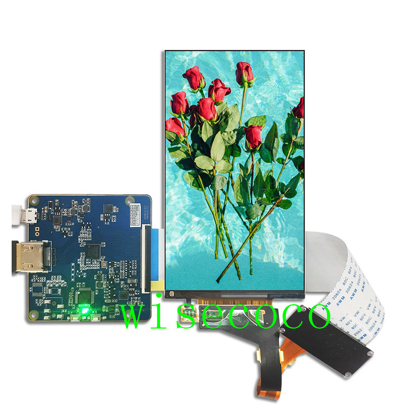 2560*1440 5.5 inch 2K LCD display LS055R1SX04 MIPI to HDMI board for Wanhao d7 plus lcd(China)