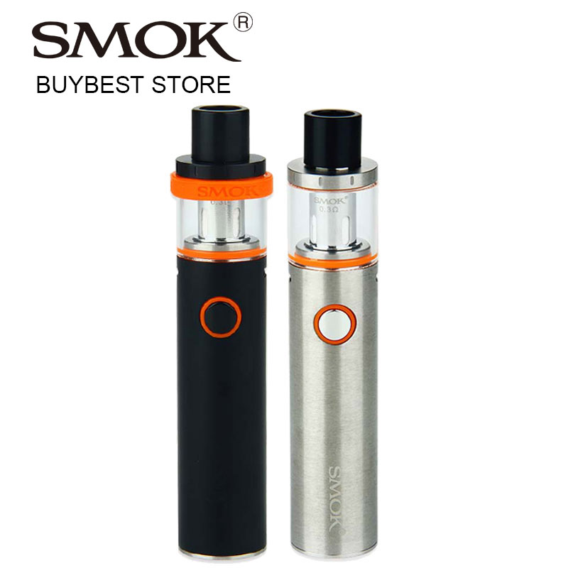 Original smok vape pen 22 kit con built-in 1650 mAh batería sin fugas cigarrillo electrónico vape kit con 0.3ohm Dual Core