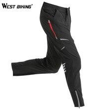 Batı bahar nefes bisiklet pantolonları erkek rüzgar geçirmez koşu spor yansıtıcı açık spor spor bisiklet yürüyüş pantolonu