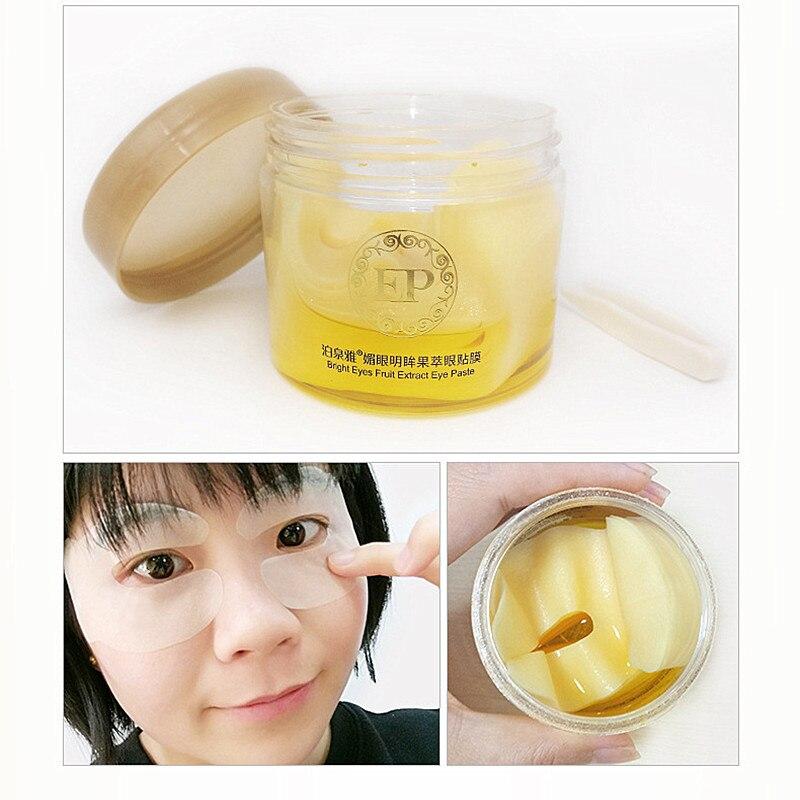 BIOAQUA Fruit extract Eye Mask Dark Circle Eye Bags Eliminate Puffy Eyes Fine Line Wrinkles Anti Aging Whitening Skin Care Face