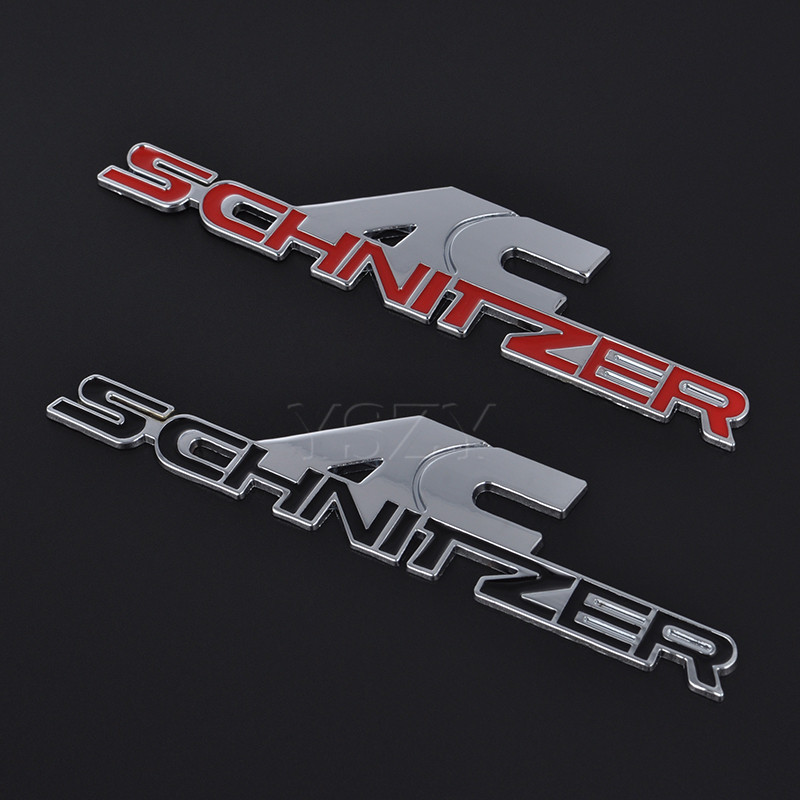 NEW AC Schnitzer 3D metal chrom emblem badge trunk BMW E36 E46 E39 E60 E90 E92