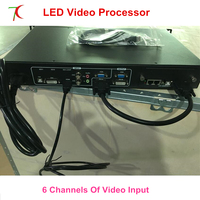 LED video processor with PIP function widly use for p1.6/p1.8/p1.9/p2/p2.5/p3/p4/p5/p6/p7.62/p8/p10/p16 full color led display