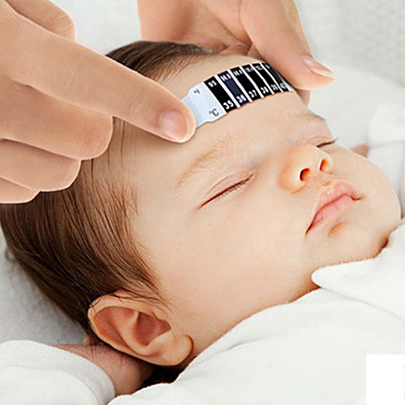 Forehead Head Strip Thermometer Fever Body Baby Child Kid Adult Check Test Temperature Monitoring Accessories