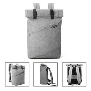 Image 2 - BAGSMART กระเป๋าเป้สะพายหลังกระเป๋าเดินทางอเนกประสงค์ Roll Top แฟชั่น Rucksack เหมาะกับแล็ปท็อปขนาด 15.6 นิ้ว