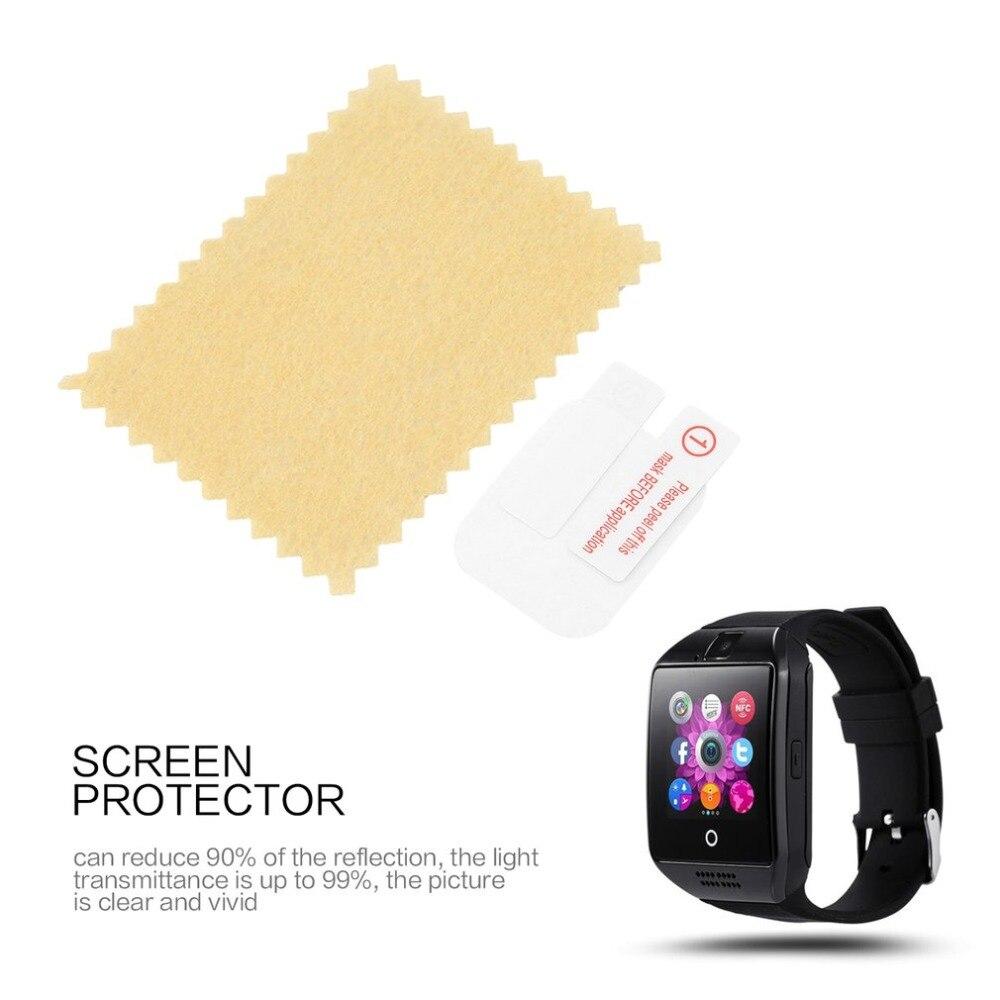 Qualifiziert Q18 Smart Armband Uhr Schutz Film Schutz Hd Scratch-beständig Elektro Transparent Klar Glas Film Videospiele