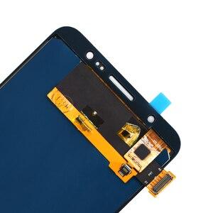 Image 3 - J710 ЖК дисплей для Samsung Galaxy J7 2016 и сенсорный экран дигитайзер сборка Регулируемая Sm J710f J710m J710h + Клей Инструменты