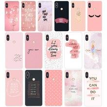 15SD Proverb Phrase Motto Soft Silicone Tpu Cover phone Case for