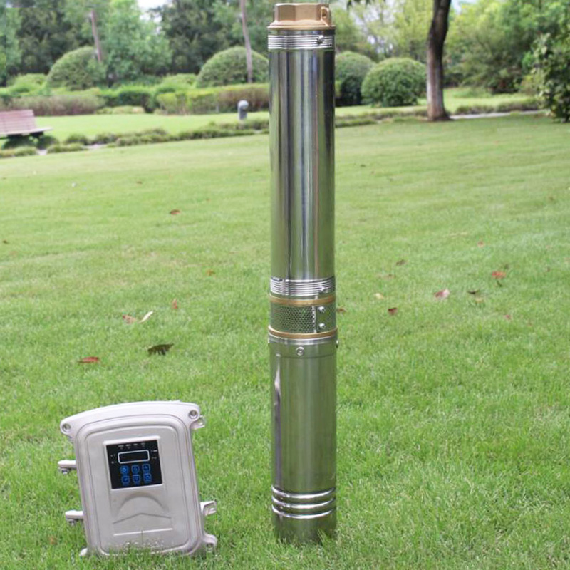 600w solar water pump for agriculture 80m solar borehole pump for irrigation high head solar water pump for wells цена