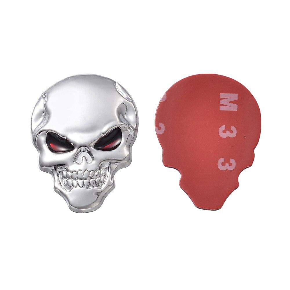 ✓3D metal Adhesivos auto esqueleto insignia etiqueta engomada del ...