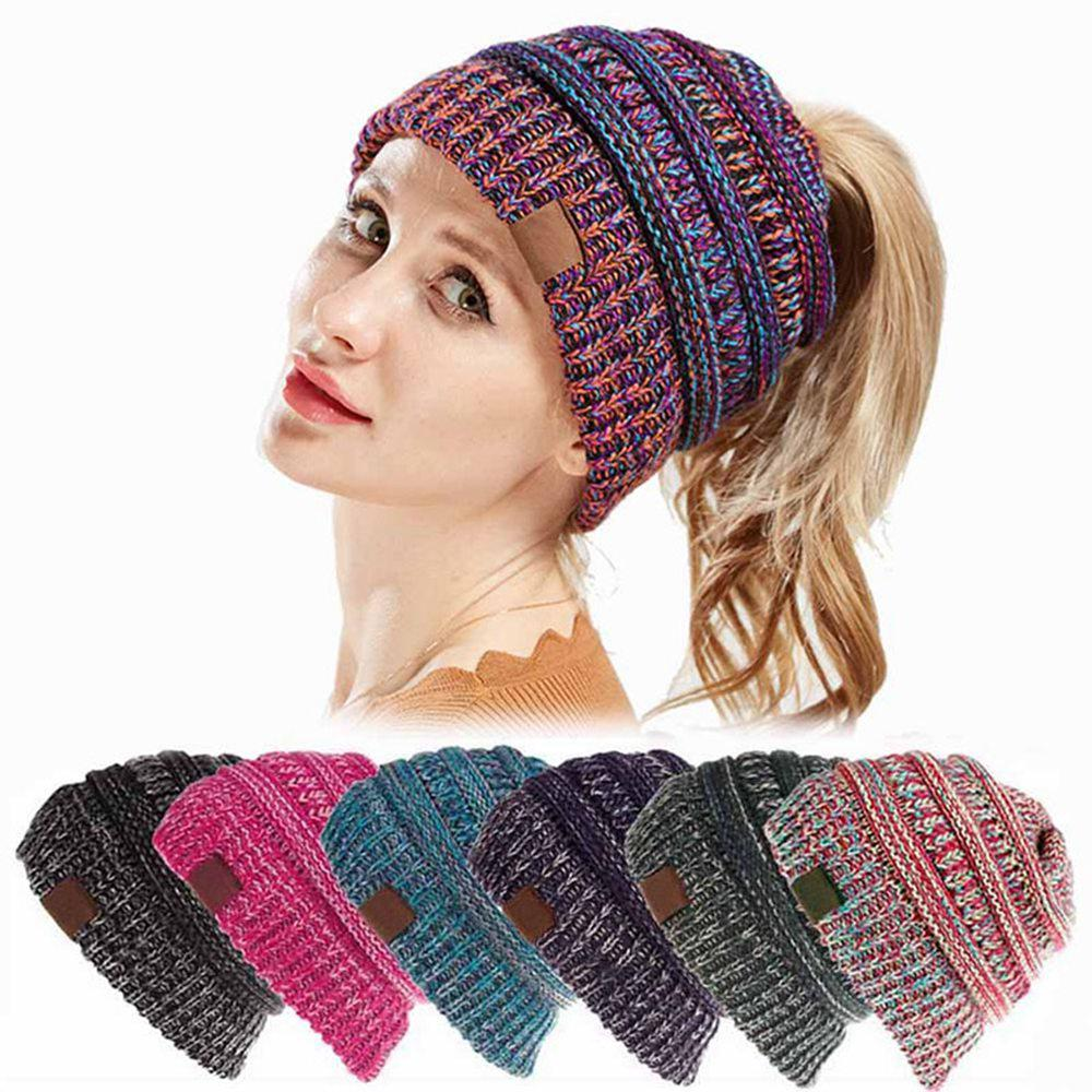 c40ea5e9c6002 Wholesale Knitted Ponytail Beanie Winter Hat Gallery - Buy Low Price Knitted  Ponytail Beanie Winter Hat Lots on Aliexpress.com