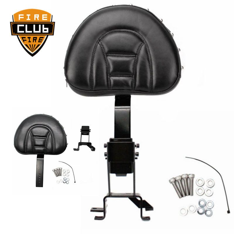 Motorcycle Backrest  Adjustable Plug In Front Driver Rider Seat Backrest Kit For Indian Chief Classic Chief Vintage 2014-2016 17