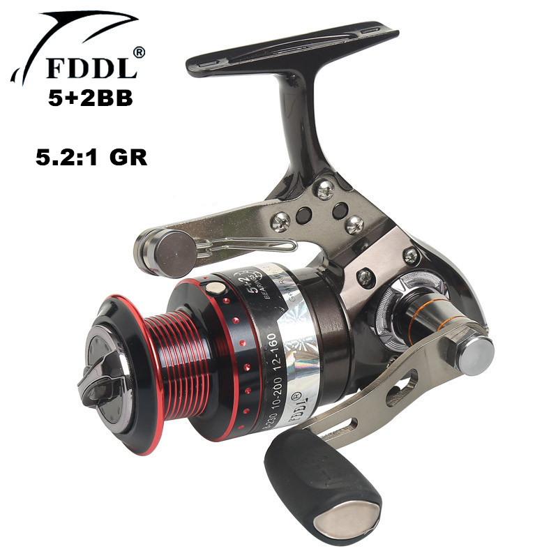 Molinete duplo 17BB+1RB equipamento de pesca Carretel
