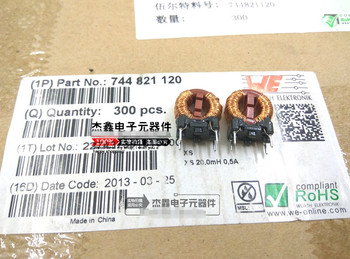 45061e5b9fbd Original nuevo 100% de 744821120 en modo común SMD Filtro de bobina de  choque 20mH 0.5A